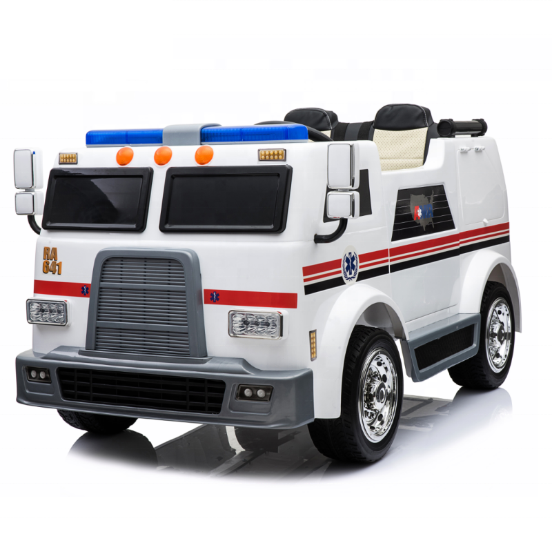2019 kids ambulance ride on car children rc electronic 12V battery car