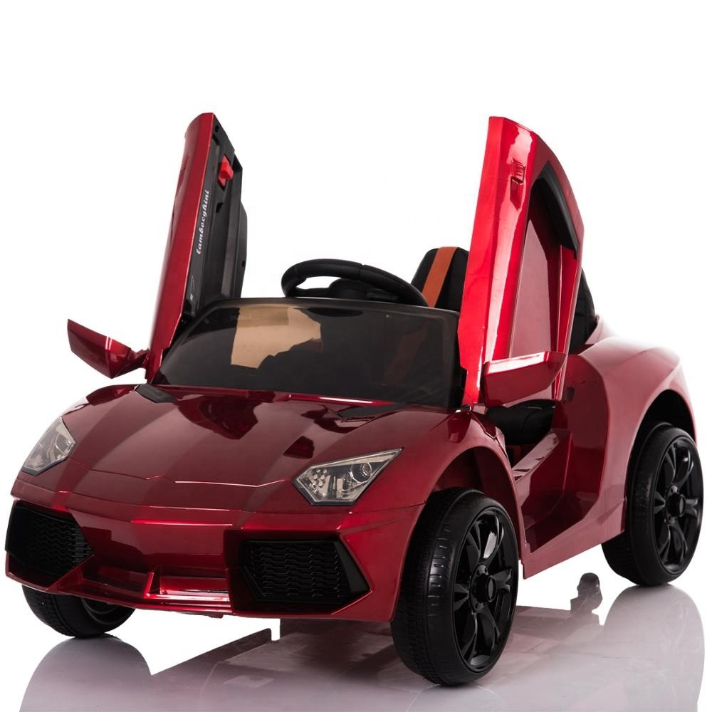 Cheap kids electric cars plastic children ride on car toy 12V
