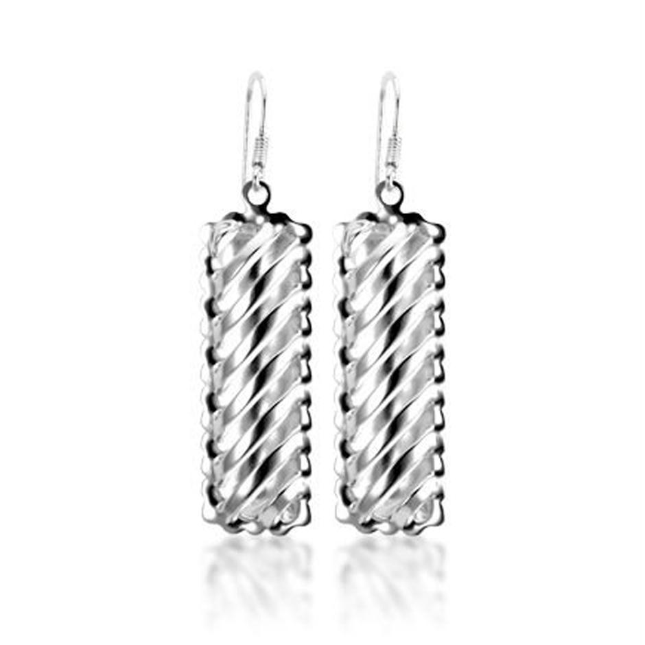 Elegant Luxury Cylinder Pendant Korea Earring Wholesale