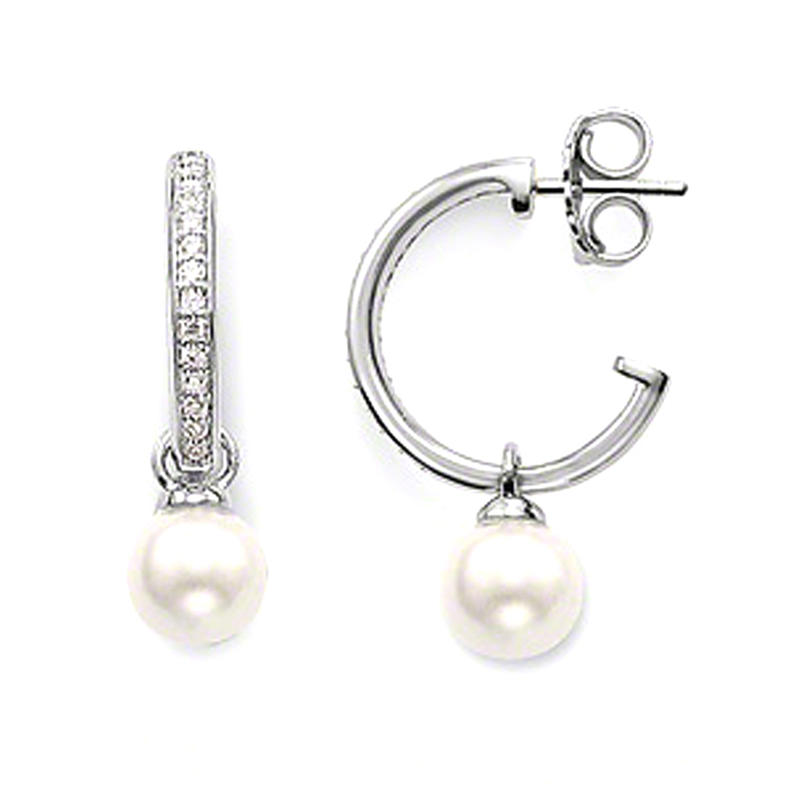 Big size thick 925 sterling silver replica earring