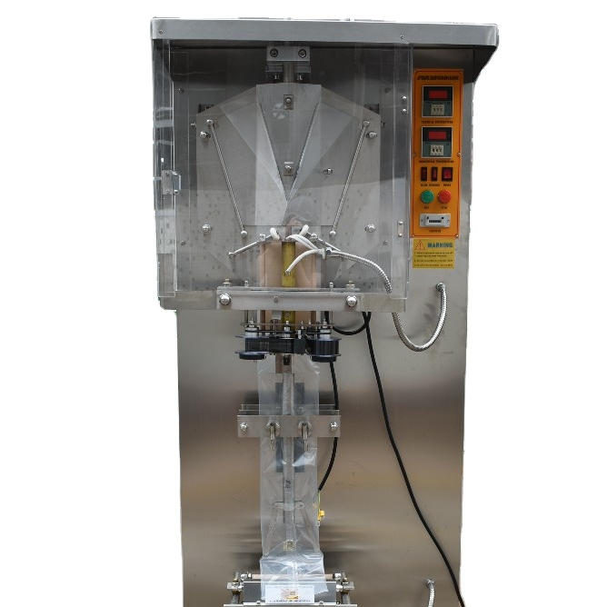 Filling And Sealing Liquid Sachet Packing Plastic Bag Small Juice Milk Pure Pouch Drinking WaterPackaging Automatic Machine