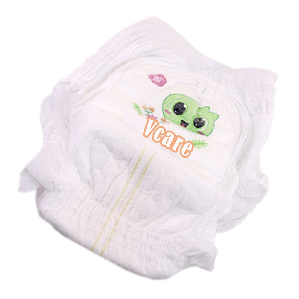 Hot Sell Pull Up Baby Diaper Pants With High Quality, 100% white Cotton Baby Diapers Low Price