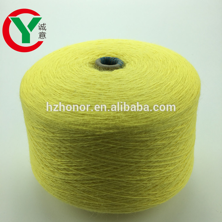organic soft wool crochet knitting sweater yarn angora nylon blend hot sale machine knitting yarn