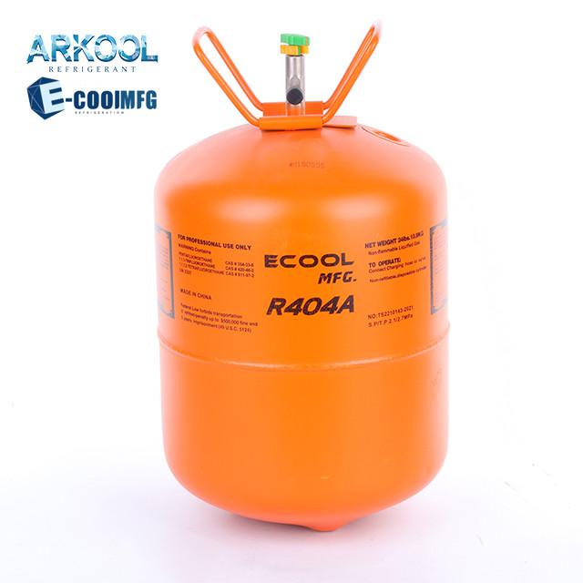 Mixed refrigerant gas r404a r407c r507 gaz