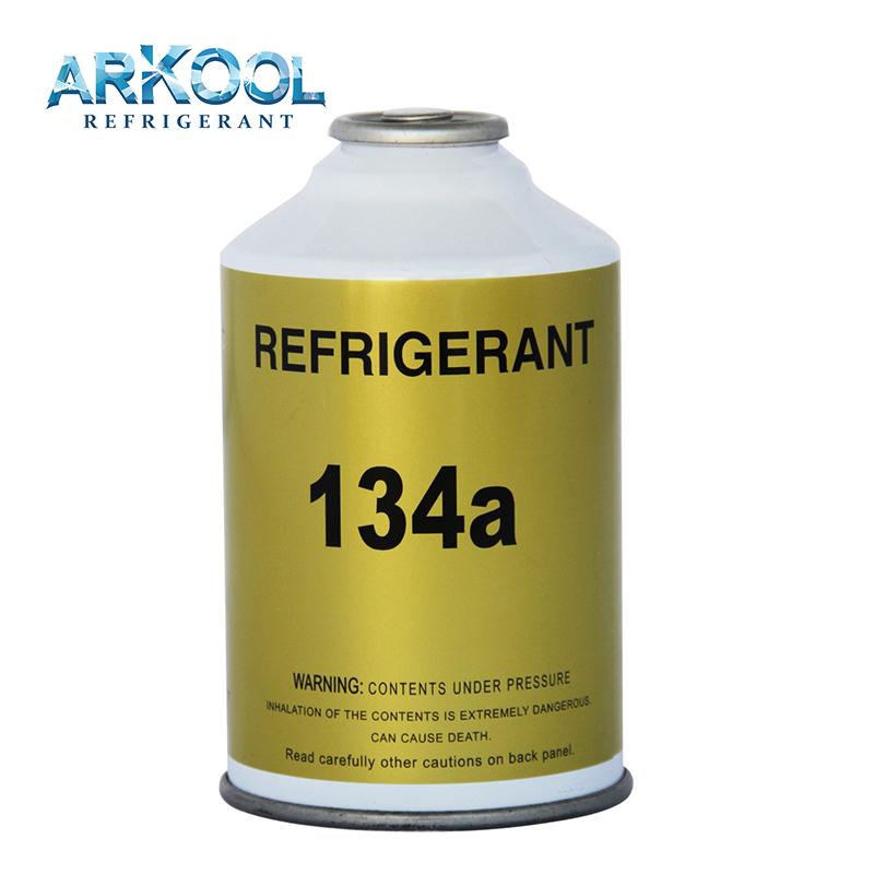 High qualityrefrigerant gas for Auto air conditioner r 134 a 300g