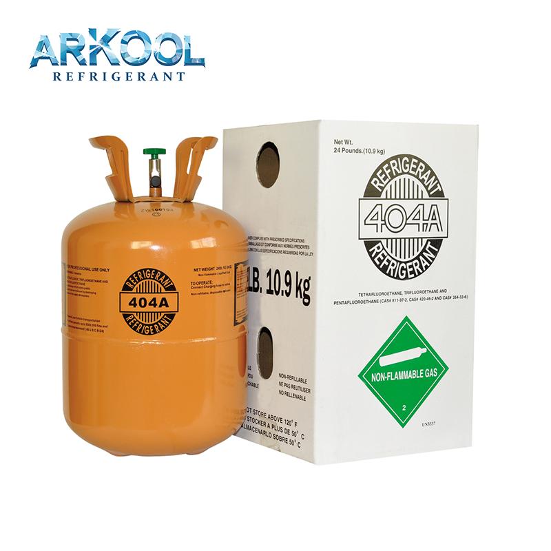Cold storage refigerant gas r404a,r407c gas ,r410 gas