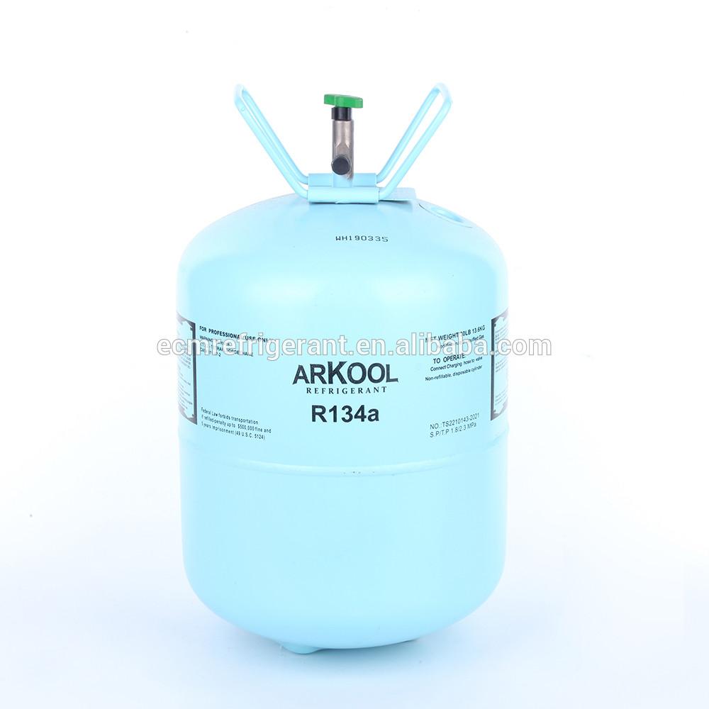 price refrigerant r134a gas 13.6kg y 12kg cylinder in bottle tank