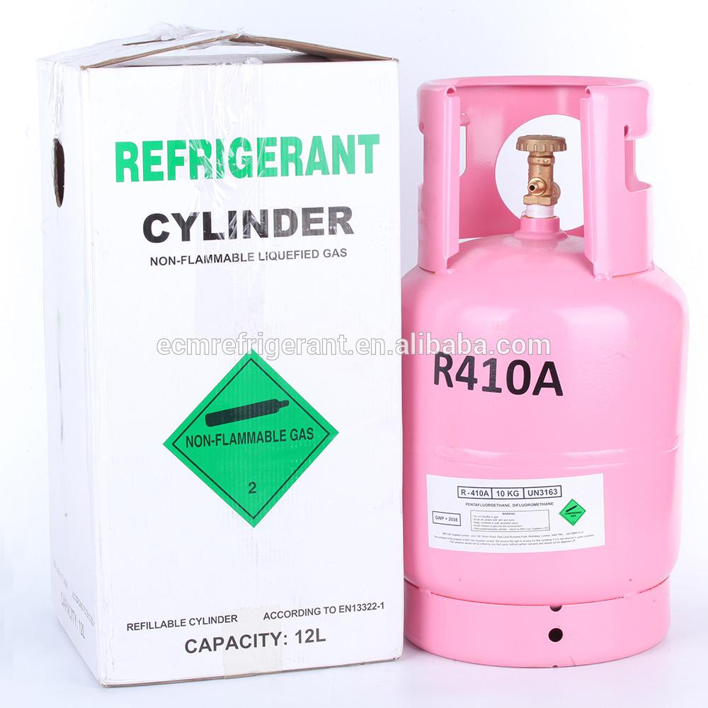 R 410 a refrigerant gas 10kg CE certfiticate for EU country