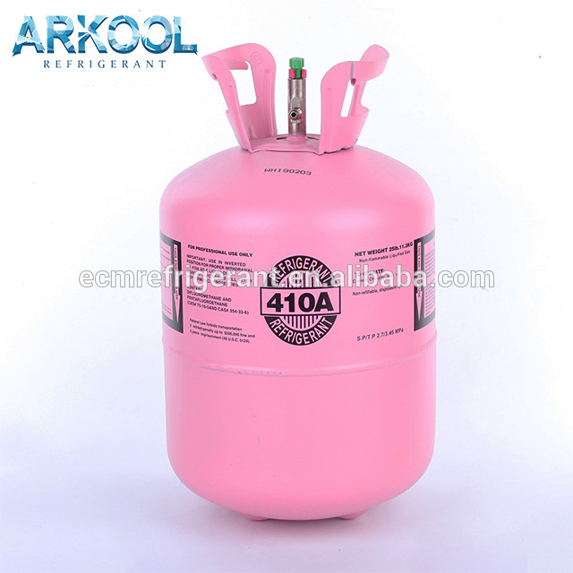 r 410 a refrigerant11.3kg 25lb gas gaz r410 410a cheap price