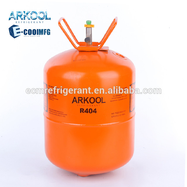 Refrigerant gas r134a r404a r507 gaz