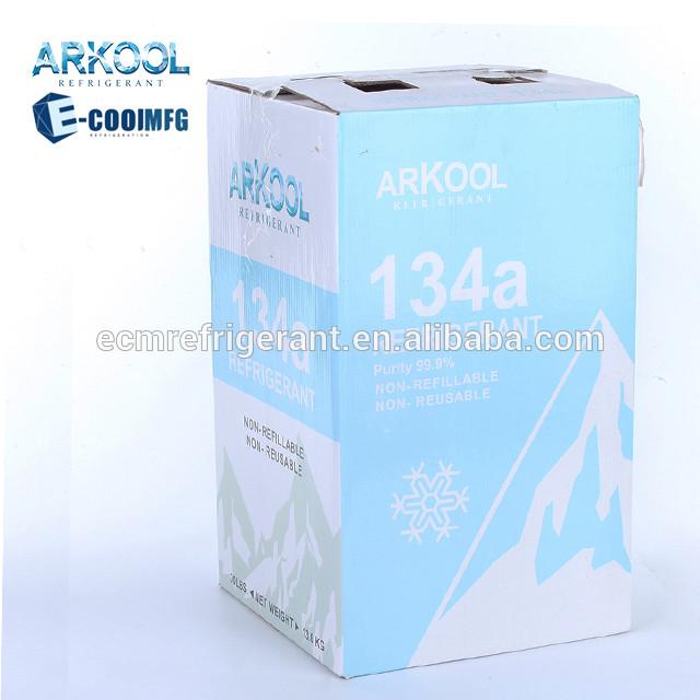 Chemical refrigerant gas r134 r134a 13.6kg