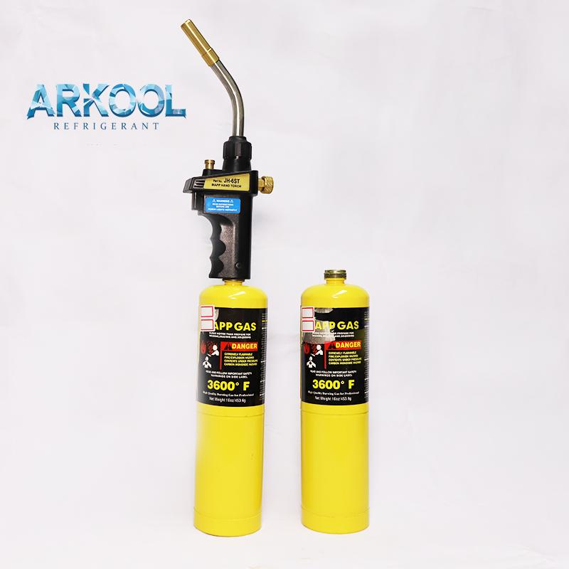 Wholesale many useful environmental mapp gas arkool brand 14OZ mapp pro also