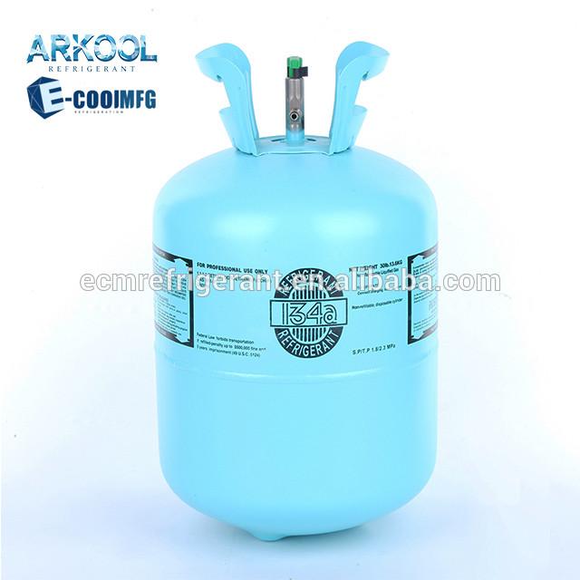 13.6kg/30lb HFC 134a refrigerant gas,r134a,r134a cool gas