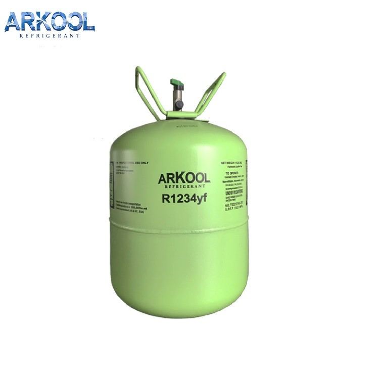 new environmental refrigerant gas from China r1234yf
