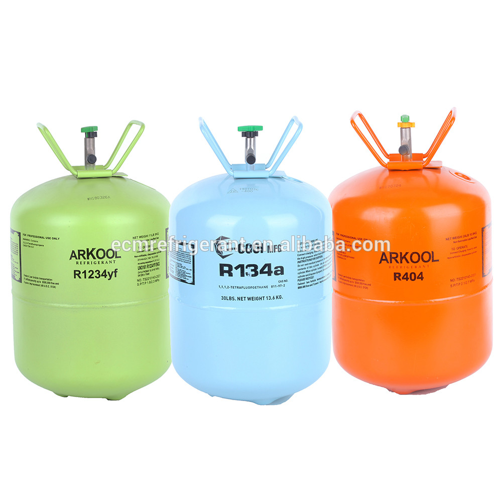 r134a high purity of gas refrigerant
