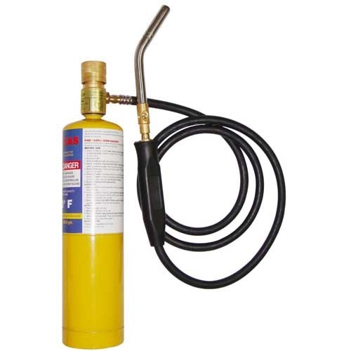Air conditioner ,refrigerant welding copper tube mapp welding torch gas mapp gas yellow cans cylinder