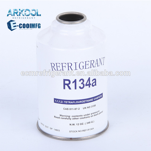 Factory supply refrigerant gas r134a 134 r134 134a for auto car cooling system