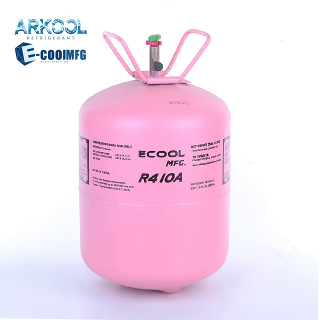 refrigerant gas r410a r407c from factory