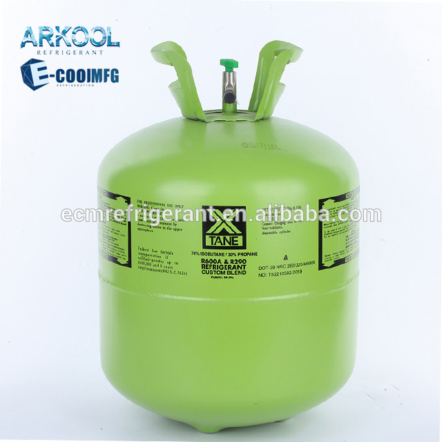 r600a refrigerant gas from china