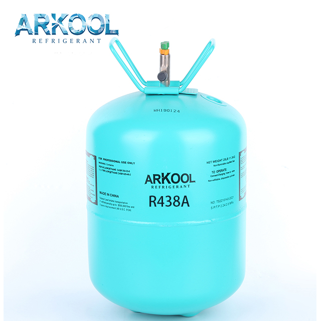 Good price air condition gas cylinder 13.6kg cooling gas refrigerant r134a