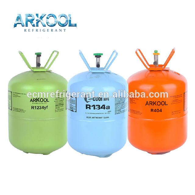 R134a r404a r410a R507 refrigerant gas