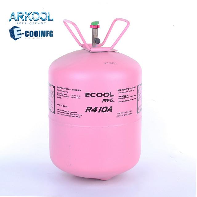 Refrigerant gas R-410a for air conditioner system