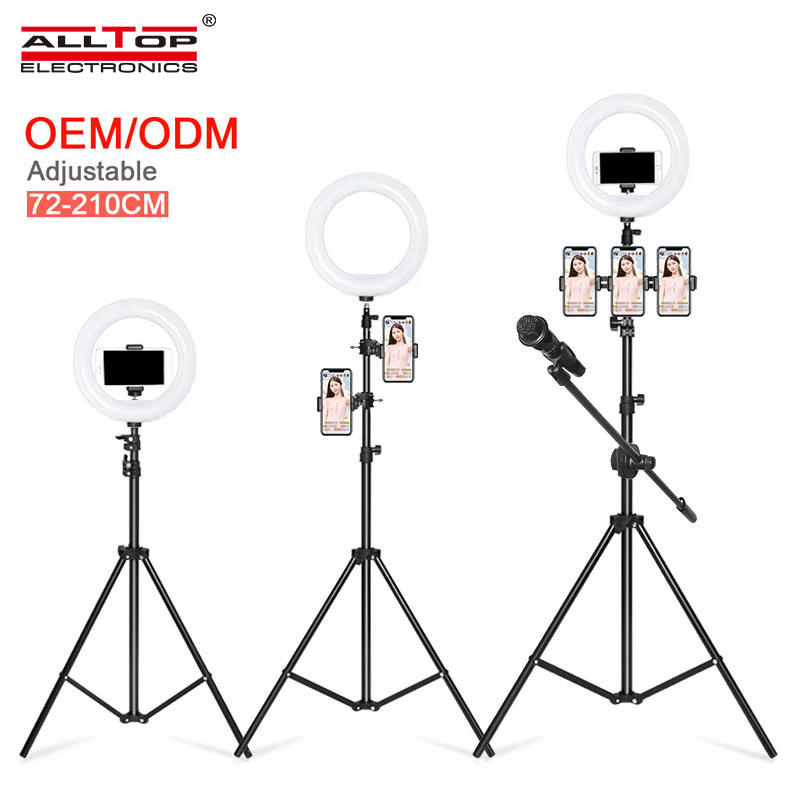 ALLTOP Hot sale multi function Live Artifact with stand 11w 13Inch Live broadcast led ring light