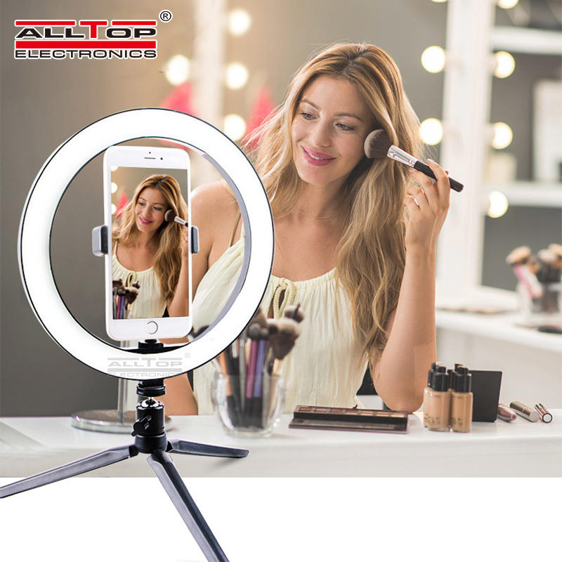 Photography Studio selfie Mobile phone stents 10 Inch Live broadcast led ring light