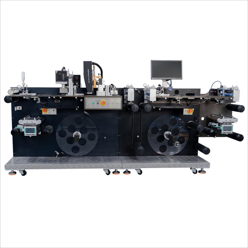 Double Side Digital Label Press Qr Code Machine