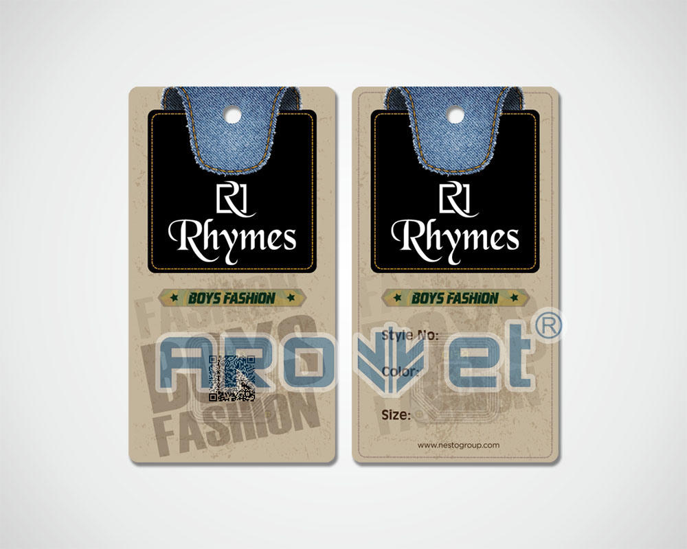 Full-Colour Digital Printing for Tags