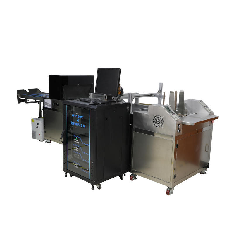 Tip-on Head Card Attaching Inkjet Printing System