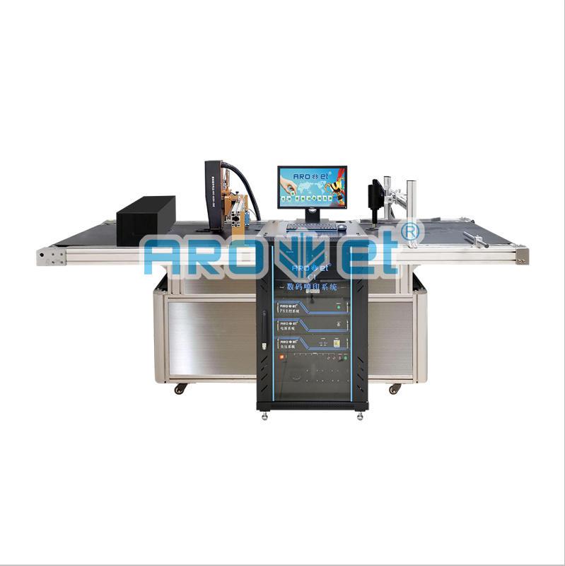 Wide Range Substrates Coding Machine UV Inkjet Label Barcode Printer