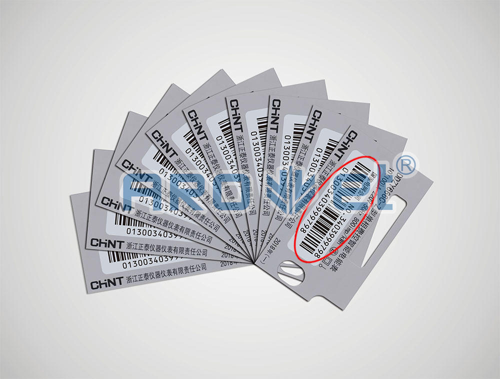 Plastic and Paper Cards Variable Data Inkjet Printer