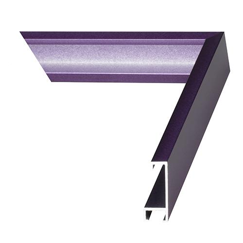 Purple Haze Metal Picture Frame Aluminum Extrusion Profile