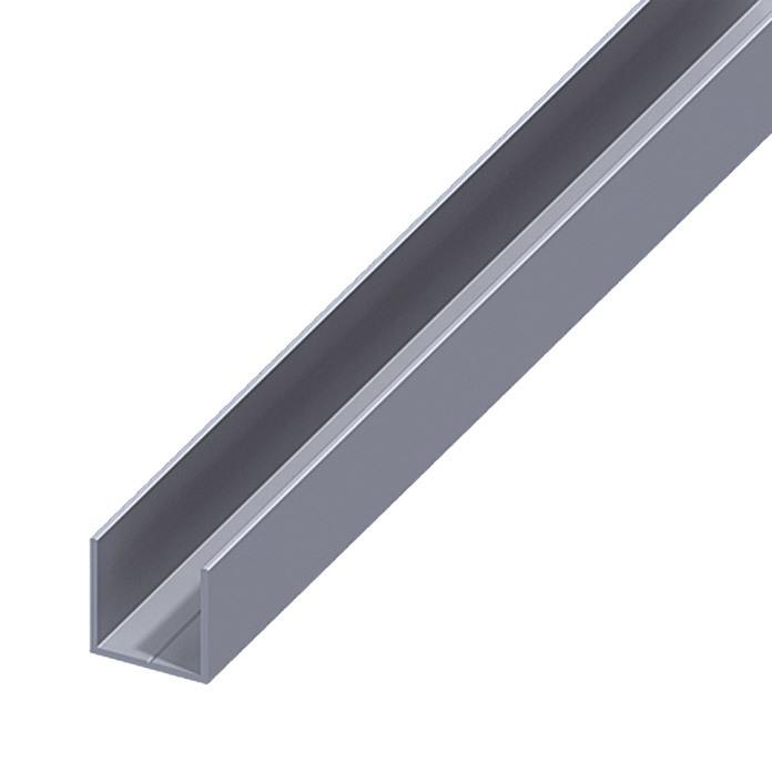 Various sizes aluminium U channel C profile