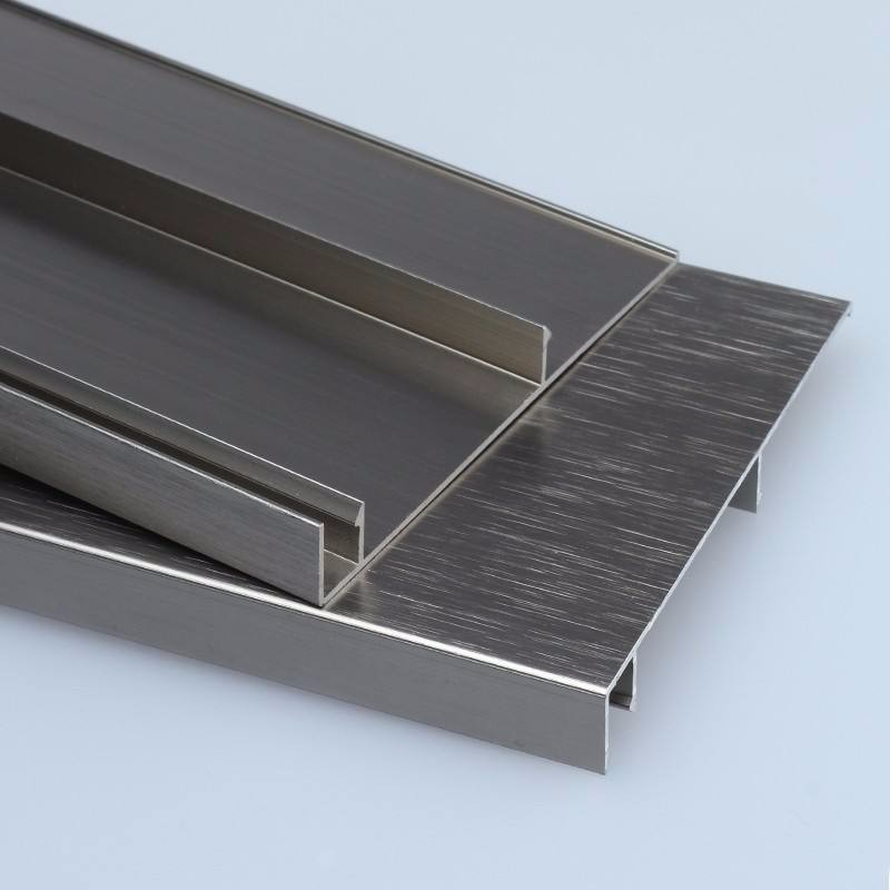 Customaluminum flooring tile trim skirting board baseboard