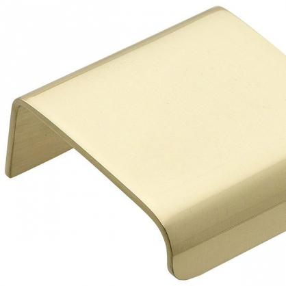 AD Aluminum Cabinet Edge Pull Handle in Champagne Aluminium Extrusion Profile