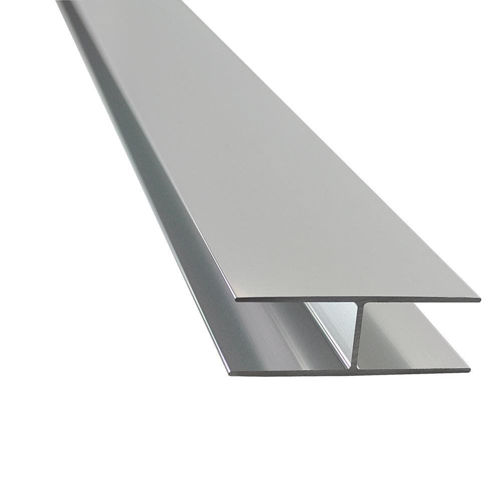 Anodized silver shower room extruded aluminiumprofiles