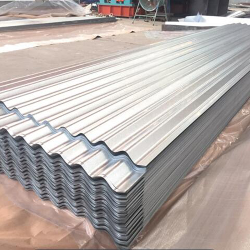 Roofing material 0.8mmaluminum corrugated sheet