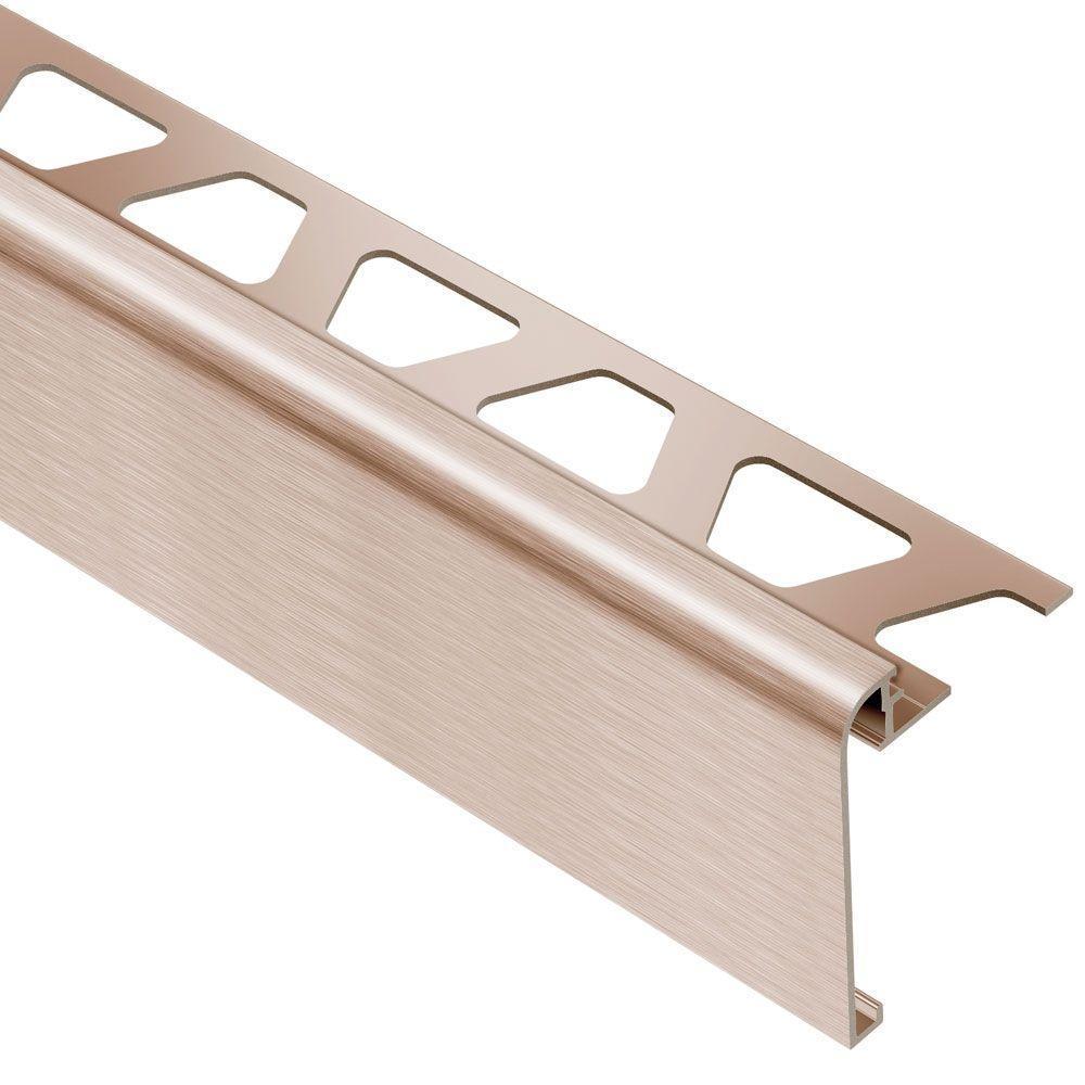 Custom round and square aluminium tile trim edging protection