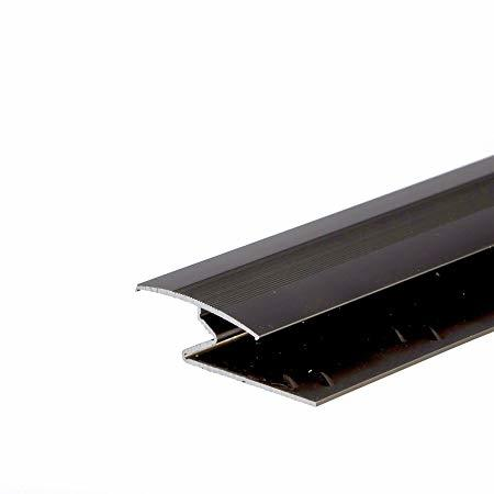 C lear anodized aluminum drip door edge