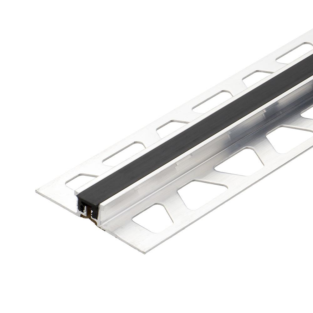 Bright satin aluminiumfloor/bathroom/cabinettile trim