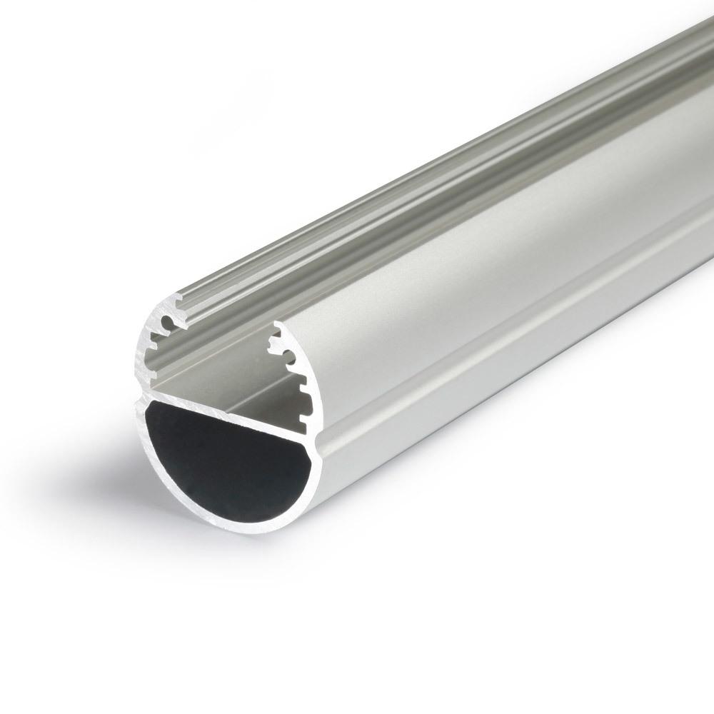 Anodized aluminum hanging rail profilefor wardrobe