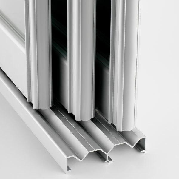 New style high quality aluminum profile for sliding wardrobe