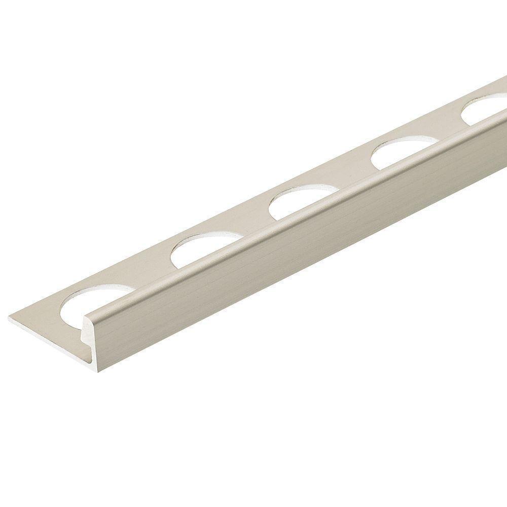SatinMetal Aluminum L-Angle Tile Edging Trim