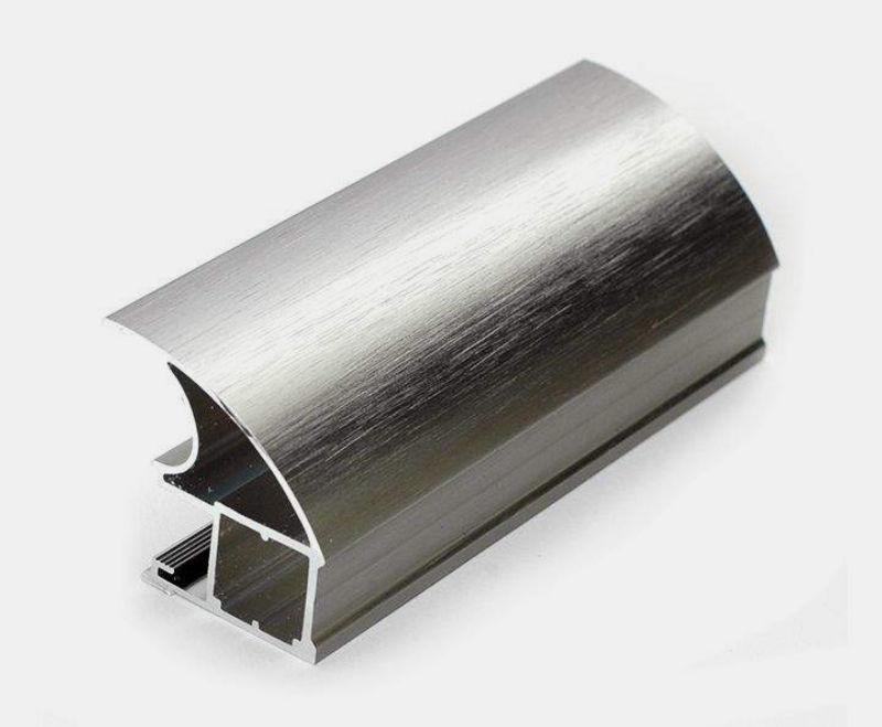 Brushed kitchen cabinet furniturealuminium profiles