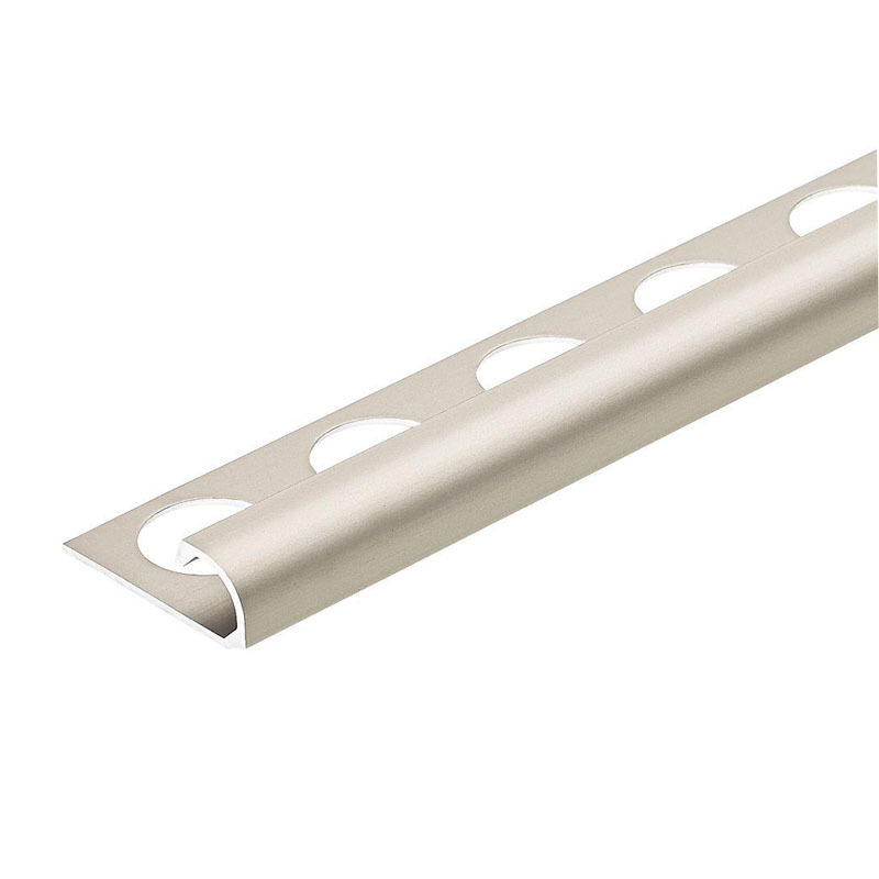 Good Wear Aluminium round shape edge corner tile trim ceramic tile edge trim