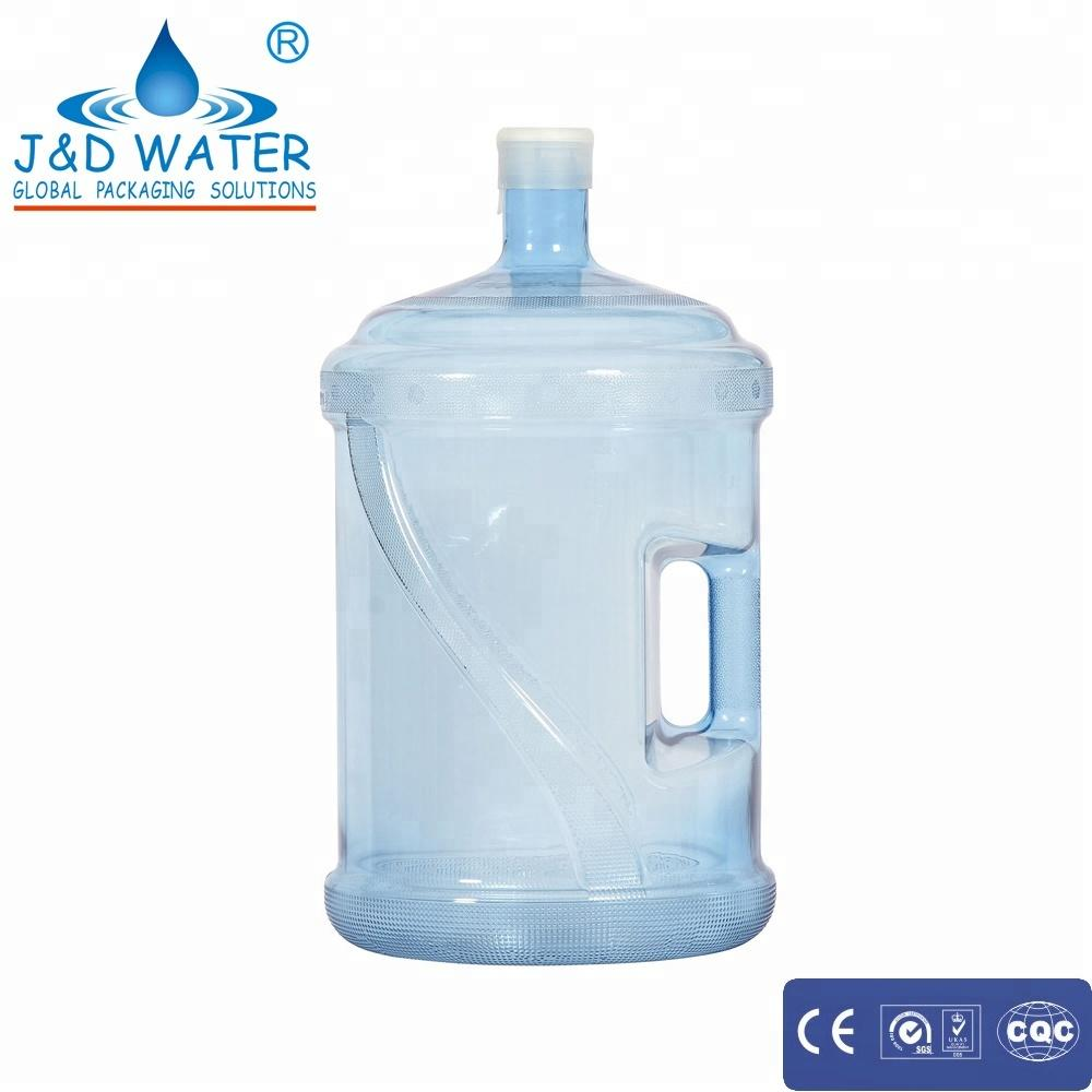 Frost surface treatment 5 gallon/19 liters/18.9 liters PC bottle for water