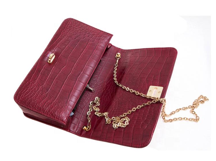 2020 fashion mini chains handbag PU leather crossbody shoulder bag for girls women