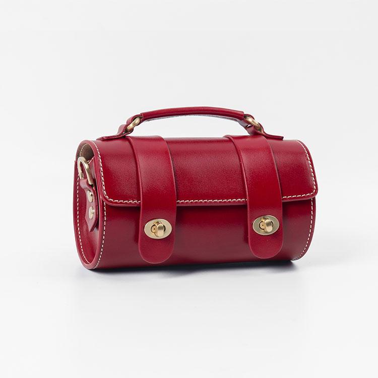 2020 new small handbags for women cross shoulder bag Cylinder bucket girls sling bags vintage fashion purses bags